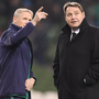 Joe Schmidt and Steve Hansen will lock horns once again tomorrow. Photo: Getty Images
