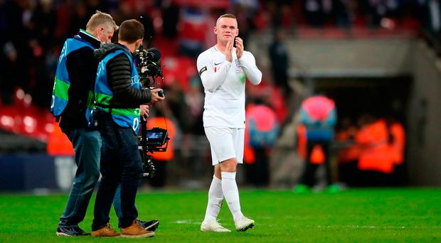 Heartfelt send-off for Rooney as new faces shine in comfortable win