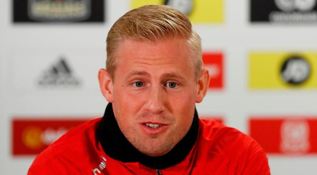 Schmeichel pays tribute to 'idol' Giggs as Denmark and Wales face crunch clash