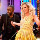 Charles Venn and Faye Tozer at the launch of Strictly Come Dancing 2018 held at The Broadcasting House, London.