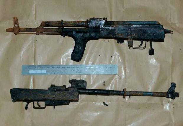 Weapons discovered following fire at Belfast home