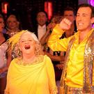 Ann Widdecombe and Anton Du Beke (Guy Levy/BBC)