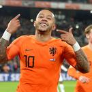 Memphis Depay. Photo: Reuters