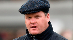 Gordon Elliott. Photo: Sportsfile