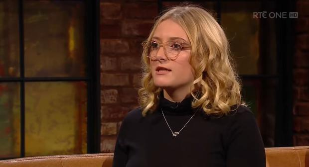 Evie Baxter on The Late Late Show, RTE One