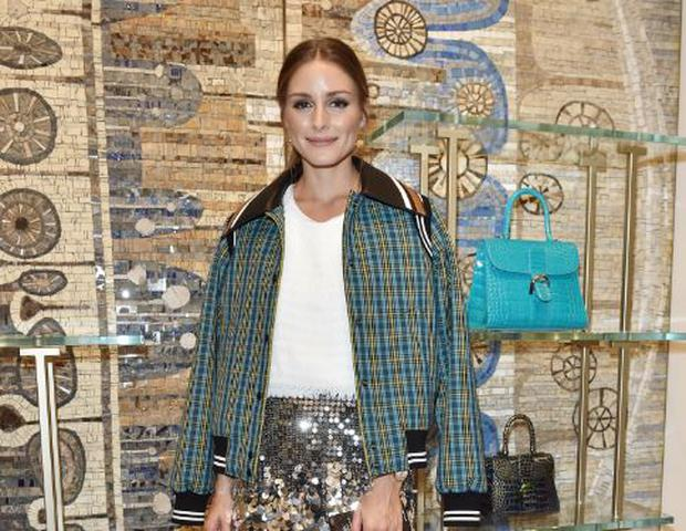 13a1f09c7 MILAN, ITALY - SEPTEMBER 19: Olivia Palermo attends Delvaux Cocktails on  September 19,