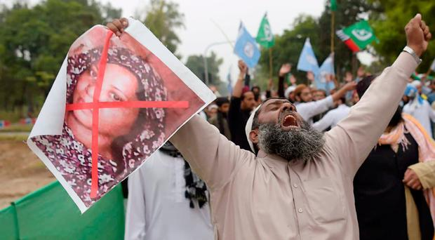 Pakistan Christians live in fear amid protests over Bibi