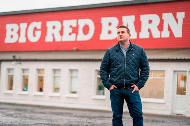 Donal Byrne, founder of Big Red Barn, says more flexibility is needed to solve the housing crisis Photo: Keith Heneghan
