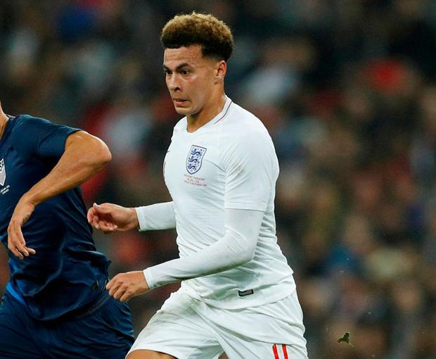 Dele Alli: 'There's a lot to improve on'. Photo: John Sibley/Action Images via Reuters