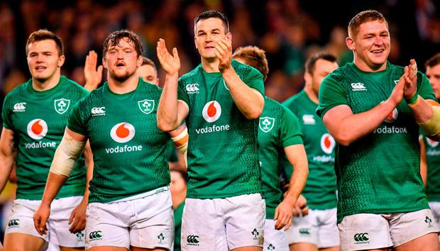 WATCH: Schmidt talks Ireland v All Blacks, where he gets his moves and  looks ahead to World Cup 2019