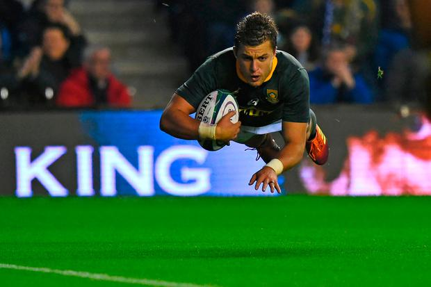 South Africa shade Scotland at Murrayfield