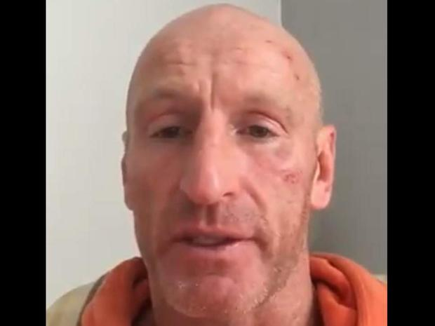 Gareth Thomas posted a video message on social media ( Twitter )
