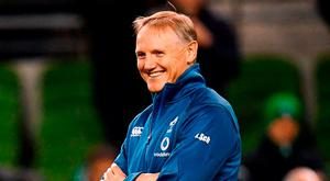 Ireland head coach Joe Schmidt. Photo: Ramsey Cardy/Sportsfile