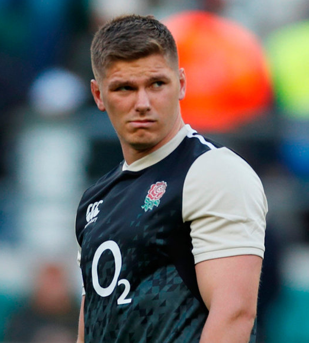 Farrell's Six Nations preparations hit by thumb injury