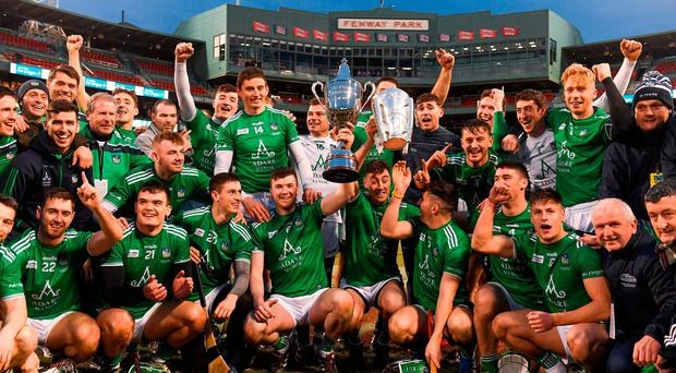 All-Ireland champions Limerick round off glorious year with Fenway Classic win