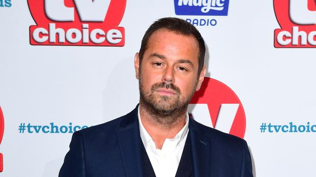 Danny Dyer attending the TV Choice Awards at the Dorchester Hotel