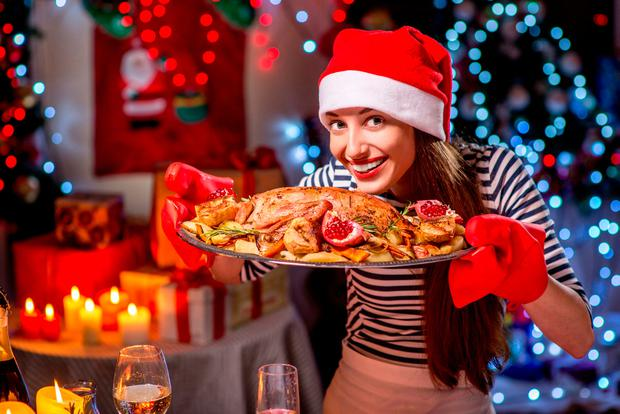 The average Christmas dinner is a whopping 1,000 calories per serving