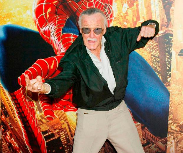 Stan Lee's characters provide allegories for lessons in life. Photo: PA Wire