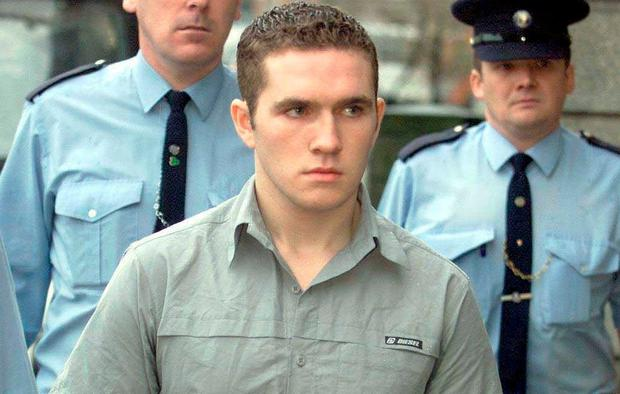 Jailed: Patrick Nevin aged 20 in 2001 when he was convicted of assaulting his girlfriend. Photo: Courtpix