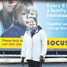 Campaign: Focus Ireland life president Sr Stan at the launch of the Focus Ireland hard-hitting Christmas appeal which highlights that nearly 4,000 children are homeless. Photo: Leon Farrell/Photocall Ireland