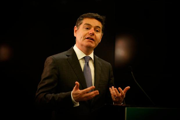 Finance Minister Paschal Donohoe. Photo: Mark Condren