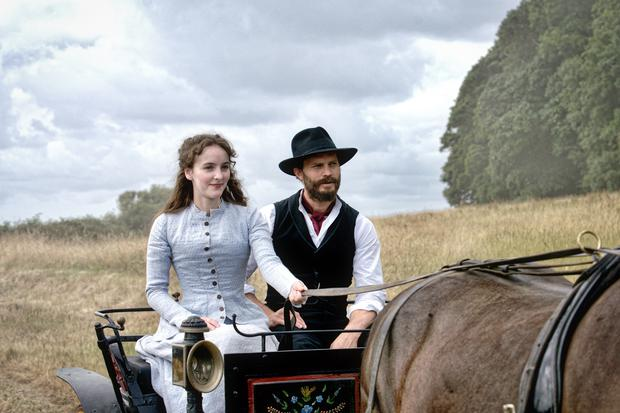 Jamie Dornan stars alongside Ann Skelly in Death And Nightingales which was filmed in Northern Ireland (BBC/PA)