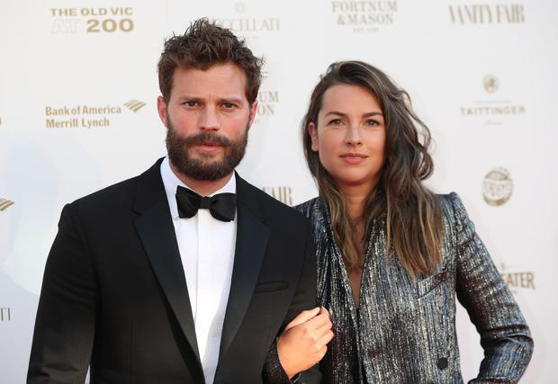 Jamie Dornan and his wife Amelia Warner, who live in the Cotswolds (Yui Mok/PA)
