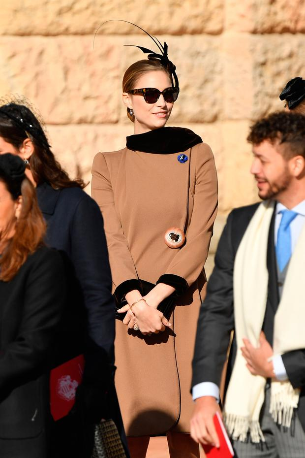 Beatrice Casiraghi attends Monaco National Day Celebrations on November 19, 2018 in Monte-Carlo, Monaco. (Photo by Pascal Le Segretain/Getty Images)