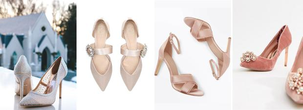 Winter wedding shoe edit from THEVOW.ie