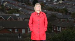 Mairia Cahill pictured in the Oldpark area of north Belfast following the publication of the Northern Ireland Police Ombudsman's report into the PSNI's handling of her sexual abuse case against an IRA member. Picture by Jonathan Porter/PressEye