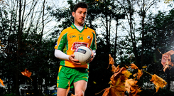 Ready for action: Corofin and Galway star Ian Burke is looking forward to the challenge of taking on Ballintuber in the AIB Connacht Senior Football Championship Final on Sunday. Photo: Sportsfile