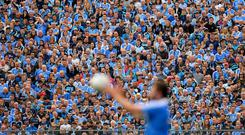 'The crowd at the semi-final between the Dubs and Galway was a shot across the bows.' Photo: Piaras Ó Mídheach/Sportsfile