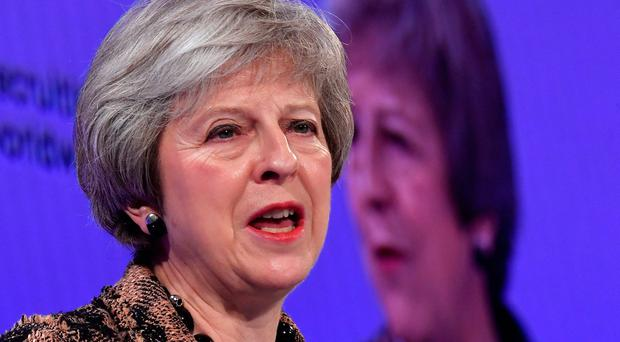 Theresa May: Talks will focus on future EU-UK relations. Picture: REUTERS/Toby Melville