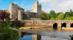 Cahir Castle and the River Suir in Cahir, Co Tipperary, where 30pc of the town's population is non-Irish born