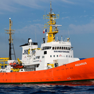 The rescue ship Aquarius. Photo: Getty Images