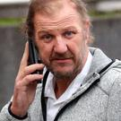 Ray Weatherall arrives at Maidstone Crown Court in Maidstone, Kent where his wife, Hayley Weatherall, is due to be sentenced for conspiracy to murder after trying and failing to kill him with the help of two others, Glenn Pollard and his daughter Heather Pollard. Photo: Gareth Fuller/PA Wire