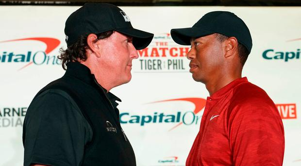 'Double it' - Phil Mickelson baits Tiger Woods with $200k side-bet ahead of 'The Match'