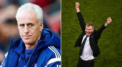 Mick McCarthy and Stephen Kenny were the leading candidates to replace Martin O'Neill