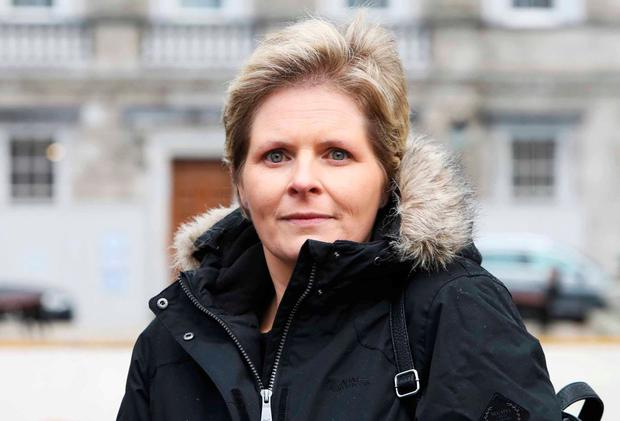 Mesh implant sufferer Lesley-Anne Stephens, from Co Carlow Photo: Leah Farrell/RollingNews