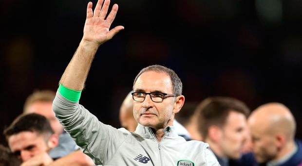 The Football Association of Ireland has announced the departure of manager Martin ONeill and his assistant Roy Keane. See PA story SOCCER Republic. Photo credit should read Nigel French/PA Wire.