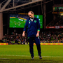 Martin O'Neill reacts during the crushing defeat against Denmark. Photo: Sportsfile