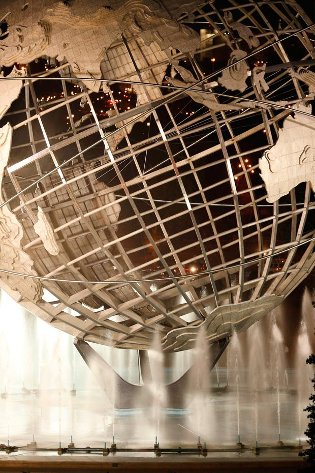 The Unisphere – the theme symbol of the 1964–1965 New York World's Fair – in the New York borough of Queens, which is to be Amazon.com's second headquarters