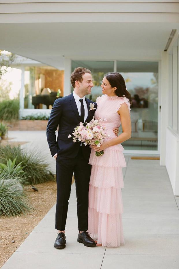 Mandy Moore and Taylor Goldsmith by Kelly Brown