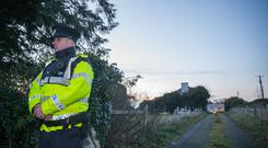 Gardai at the scene in Kilderry, Johnswell, County Kilkenny