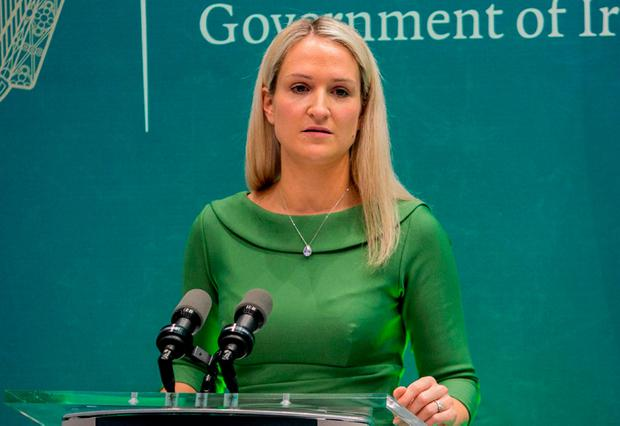 Debate: European Affairs Minister Helen McEntee. Photo: Gareth Chaney, Collins
