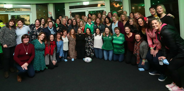 Pictured are some of the almost 100 Connacht players past and present who were honoured at the first Connacht Women's Recognition Night earlier this month