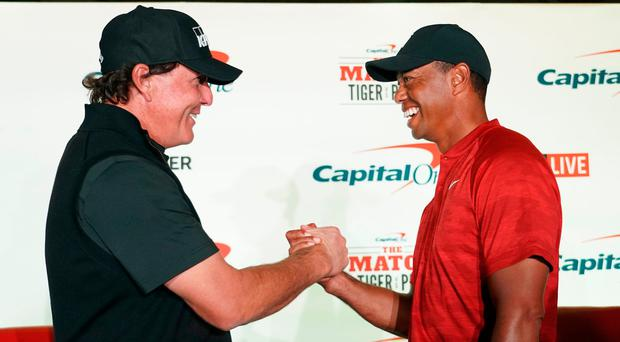 Woods money match will give 'rare insight,' says Mickelson
