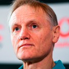 Huge progress: Joe Schmidt. Photo: Brendan Moran/Sportsfile