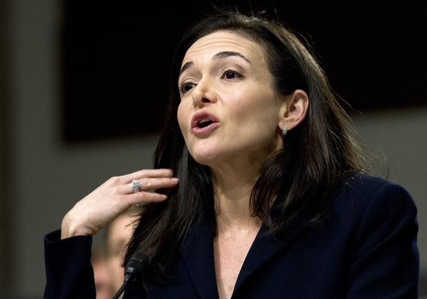 Facebook's Sheryl Sandberg. Photo: AP