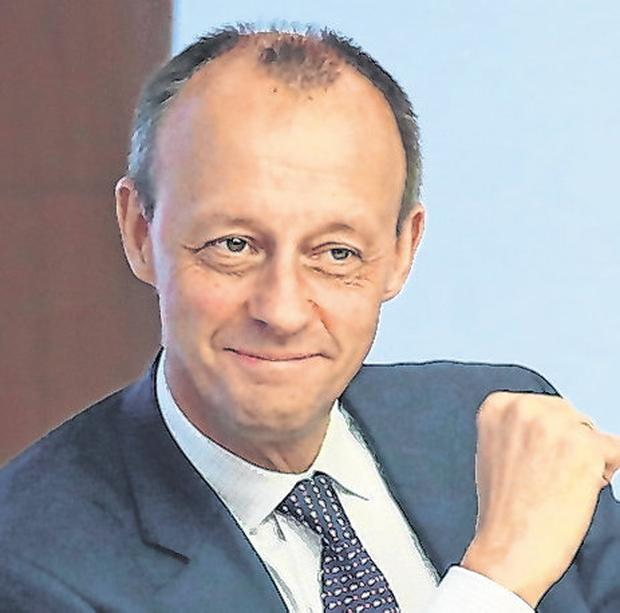 Friedrich Merz is one of three contenders to succeed Merkel. Photo: Sean Gallup/Getty Images